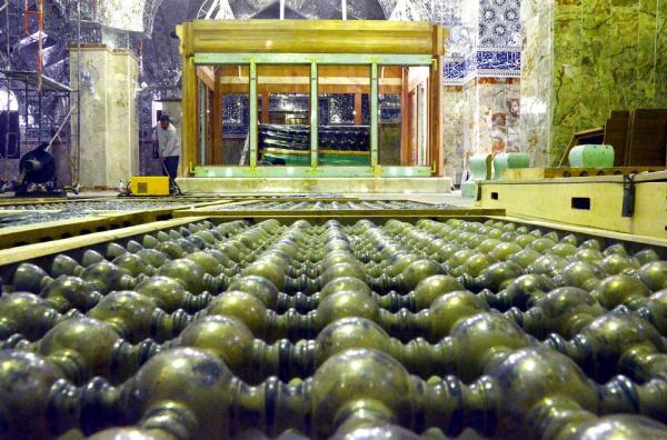 الايام  القادمة ستشهد افتتاح الشباك الجديد لصحابي هاني بن عروة (رض)