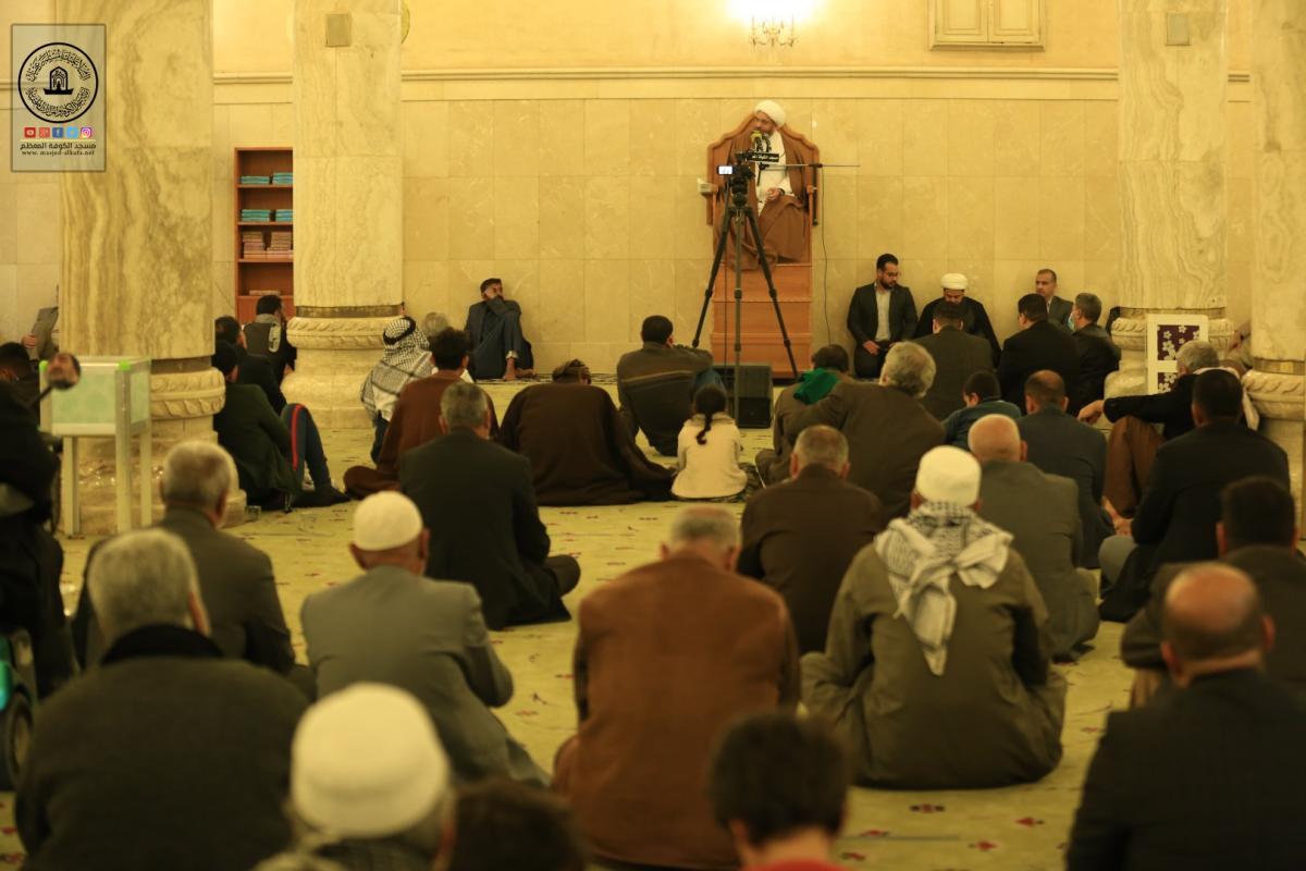 مجلس العزاء الاسبوعي في مسجد الكوفة المعظم