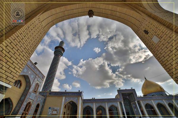 صورة فنية من صحن مسلم بن عقيل (عليه السلام) 1