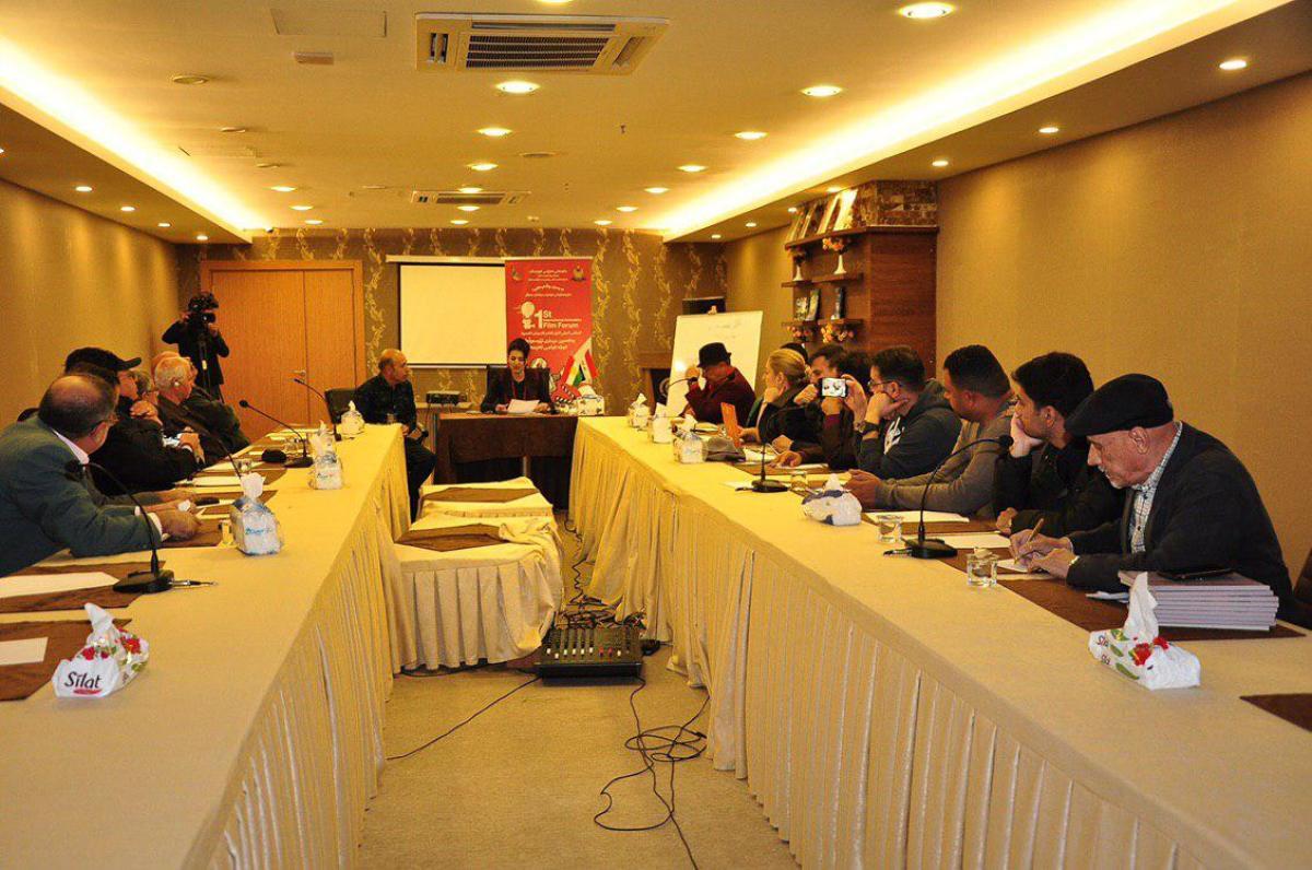 مشاركة فعالة للمبدع زيد شكر في الملتقى الدولي لأفلام الأنيميشن القصيرة في اربيل
