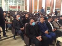 وفد أمانة مسجد الكوفة يشارك في الاجتماع الخدمي والامني ضمن استعدادات زيارة الاربعين