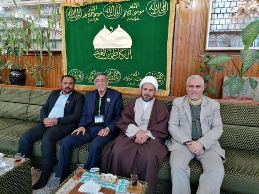 وفد أمانة مسجد الكوفة يناقش في بغداد المشاركة في إحياء ذكرى شهادة الكاظم (عليه السلام)