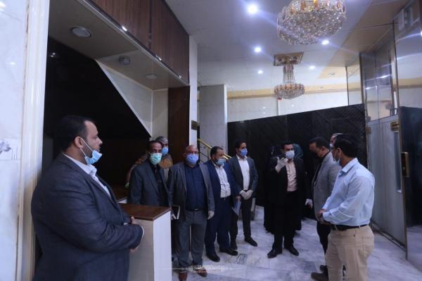 أمانة مسجد الكوفة والمزارات الملحقة به تضع امكاناتها الممكنة للحد من انتشار وباء كورونا