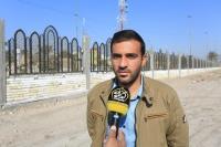 امانة مسجد الكوفة تواصل العمل ببناء السياج الأمني المحاذي لمزار التمَّار (رض)
